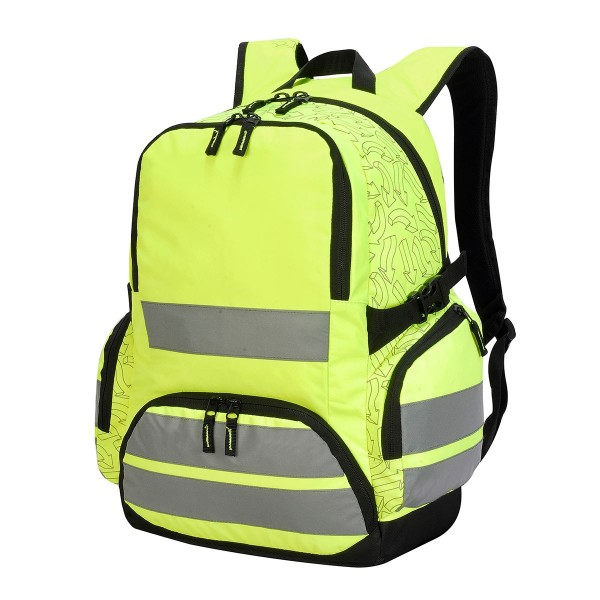 hi vis:backpack arrow