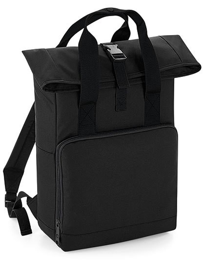 poly:Twin Handle Roll-Top Backpack