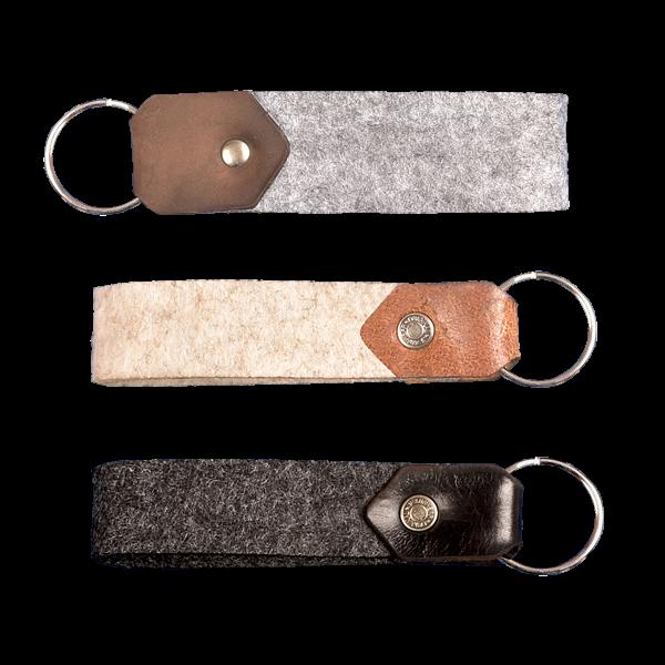filz:schlüsselanhänger