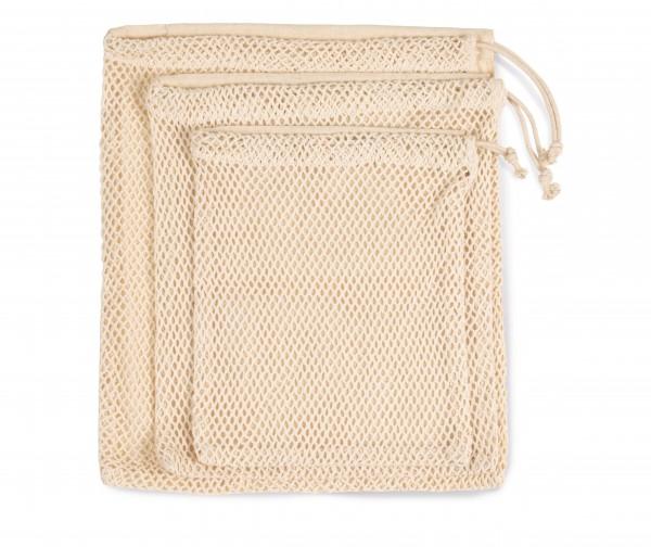 veggie:Netztasche mit Kordelzug S