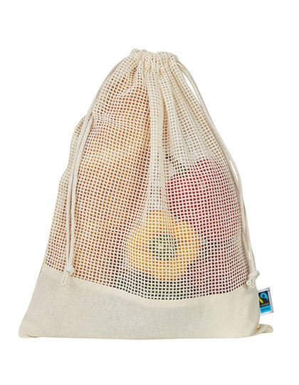 organic:Fairtrade Mesh Bag Natur