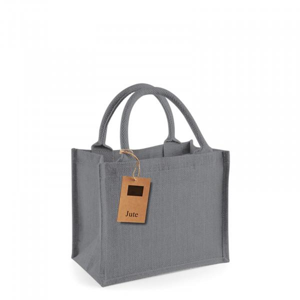 jute:small gift bag multicolor