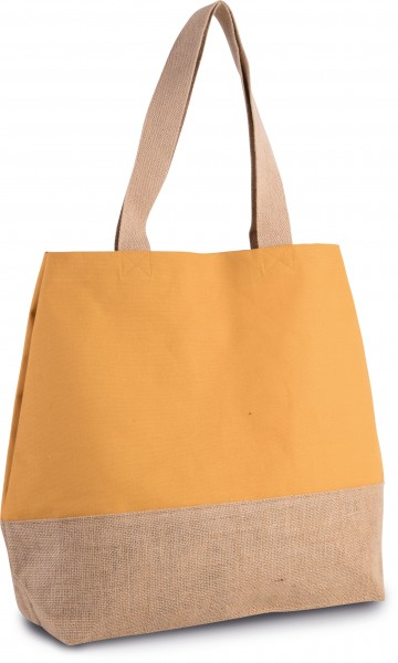 cotton:Baumwoll-Jute-Shopper