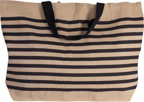 jute:Big-Shopper aus Jute-Baumwoll-Mischgewebe