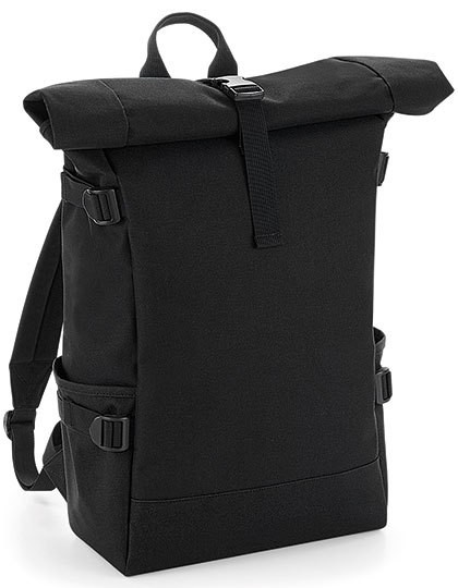 poly:Block Roll-Top Backpack