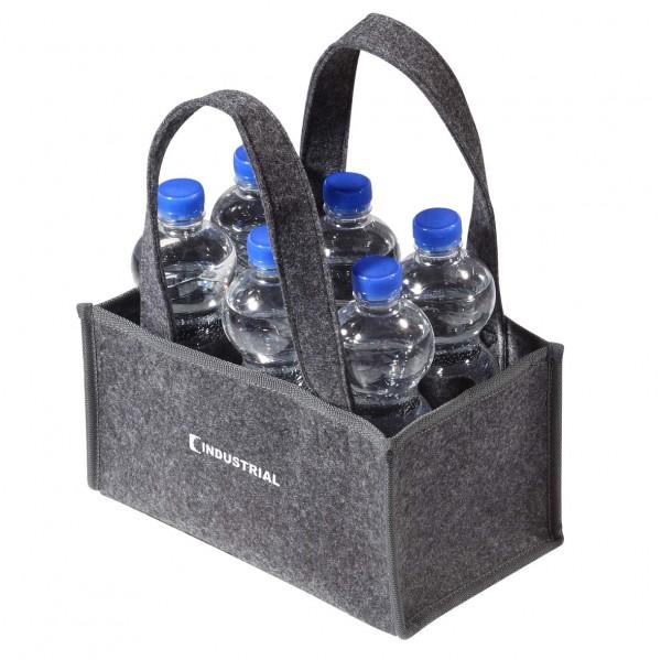 deerbags: filz 6er Flaschenträger