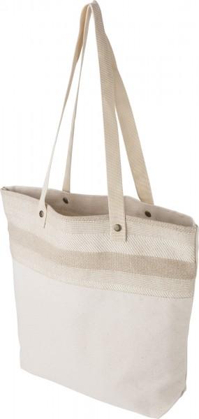 cotton:green shopper